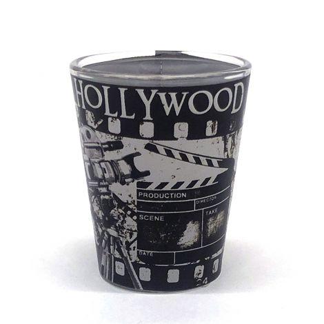 Hollywood vintage Filmstip Shotglass