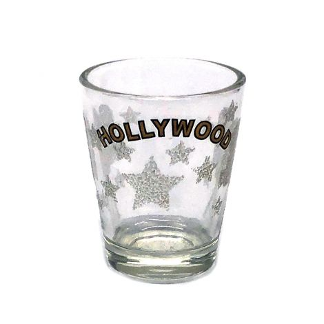 Hollywood With Icing Shot Glass
