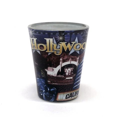 Hollywood California Shotglass