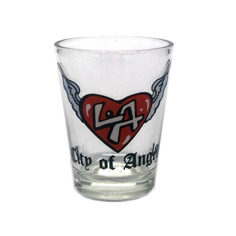 City Of Angels Shot Glass