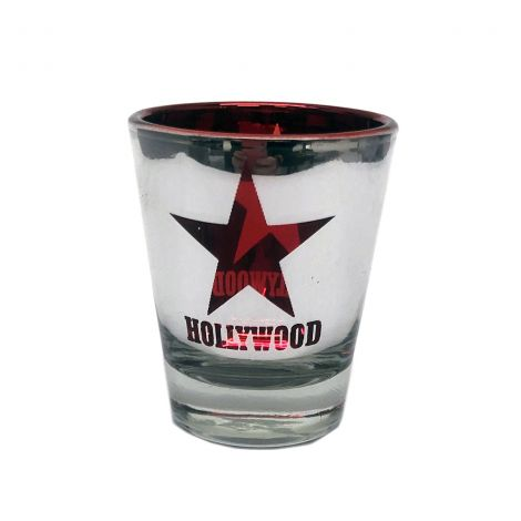 Metallic Hollywood Red Star
