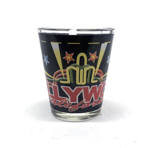 Hollywood, California party designs shot glass