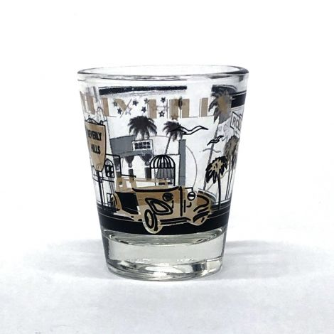 Clear Beverly Hills Shotglass
