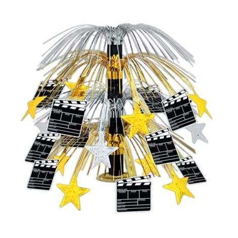 Movie Set Clapboard Cascade Centerpiece 18""