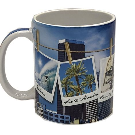 Los Angeles Polaroid Mug