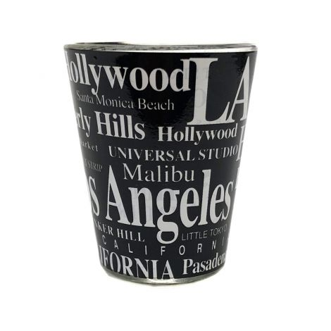 Black Los Angeles Shot Glass