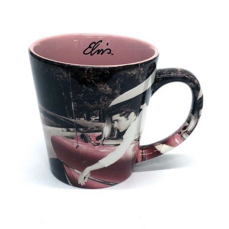 Elvis Presley Coffee Mug Graceland Latte Mug