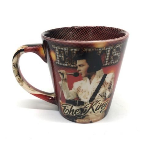 Elvis Presley Coffee Mug the King