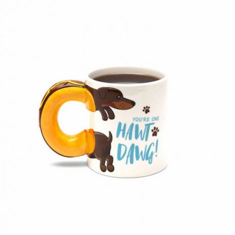 HAWT DAWG Wiener Sausage Hot Dog Mug