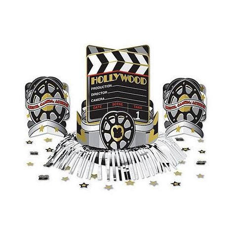 3 pcs Hollywood Movie Centerpiece Kit
