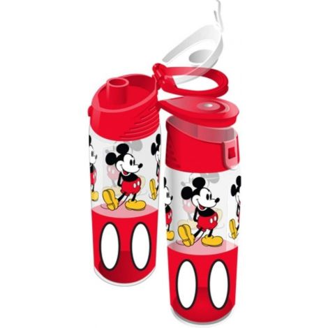 Disney Mickey Red Water Bottle, 9 Inch