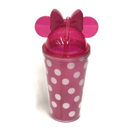 Disney Minnie Mouse Ear Polka Dot Water Bottle
