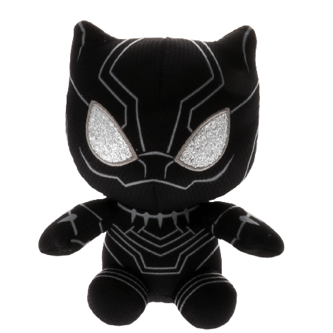 TY - Beanie Baby plush toys Black Panther
