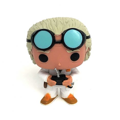 Back to The Future Doc Brown Vinyl Figure