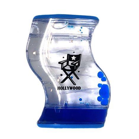 Blue S shape aqua mesmerizer