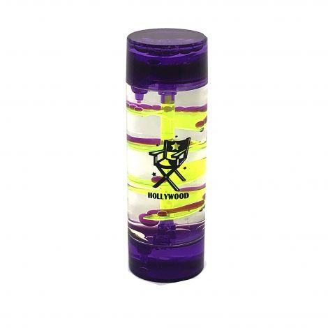 Round shape Purple and Yellow aqua mesmerizer