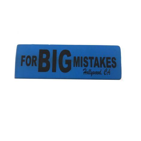 Eraser For BIG Mistake - Blue