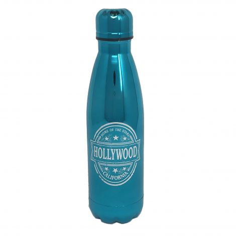 17oz Insulated Water Bottle – Metallic Blue