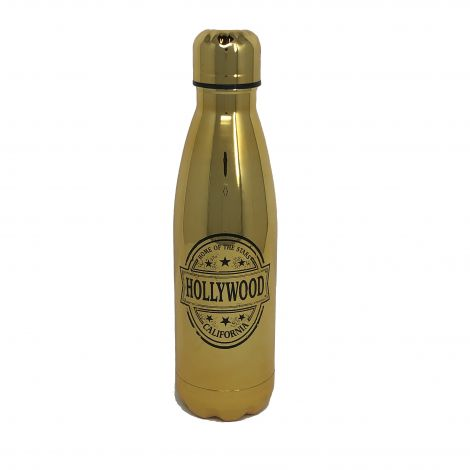17oz Insulated Water Bottle – Metallic Gold