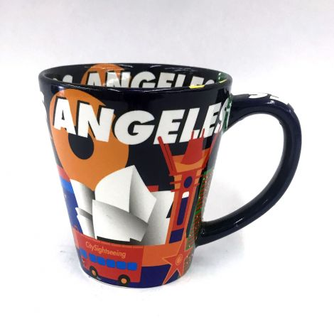 Los Angeles Colorful  Mug
