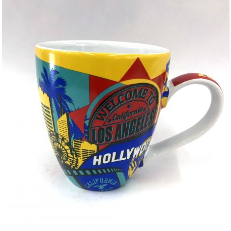 Los Angeles Colorful Mug with icons