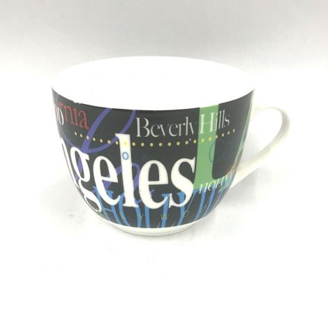 Los Angeles Colorful  large Mug