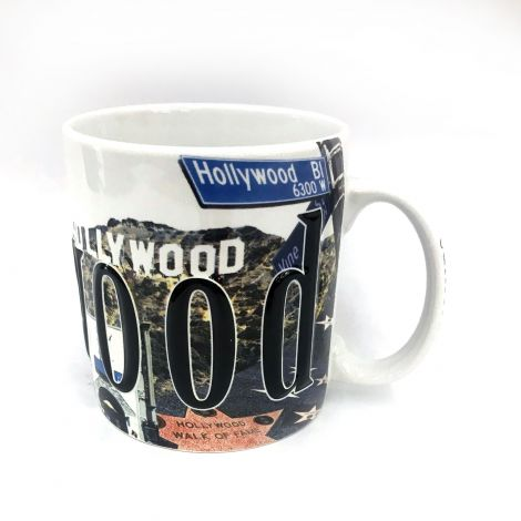 18 oz Full Color Relief Hollywood Mug