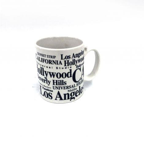 Jay Joshua  White Los Angeles Espresso Mug