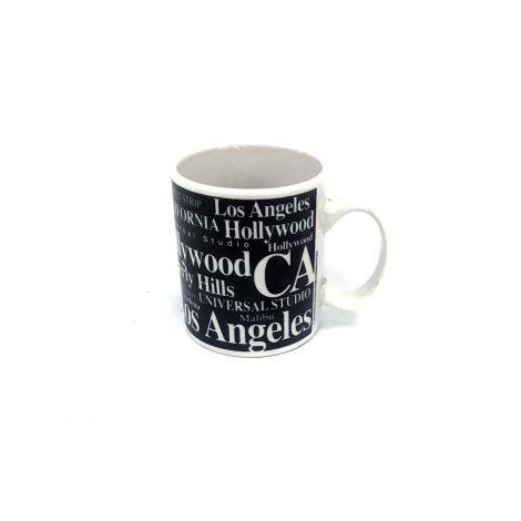 Jay Joshua  Black  Los Angeles Espresso Mug