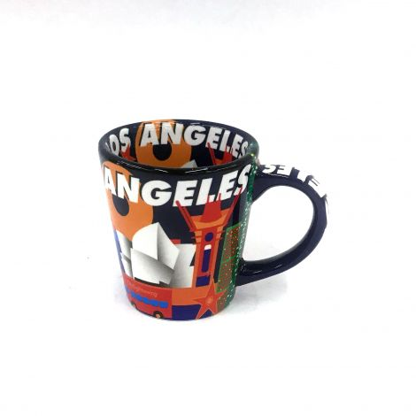 Jay Joshua  colorful Los Angeles Espresso Mug