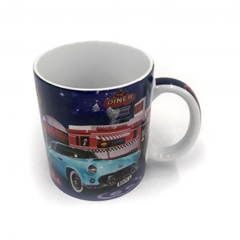 Colorful Route 66 Coffee Mug