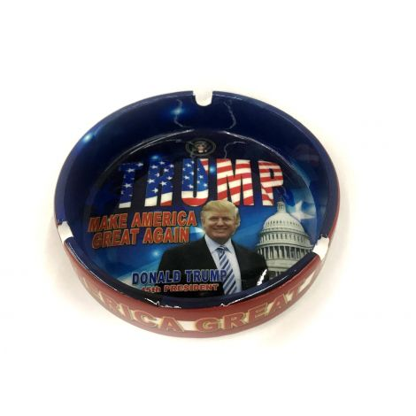 "45th President Donald Trump ""Make America Great Again"" Ashtray"