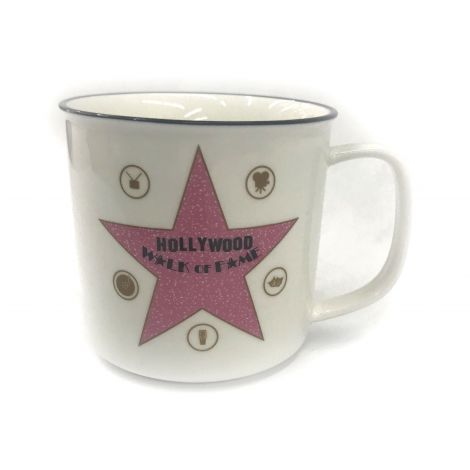 Hollywood walk of fame star Coffee mug