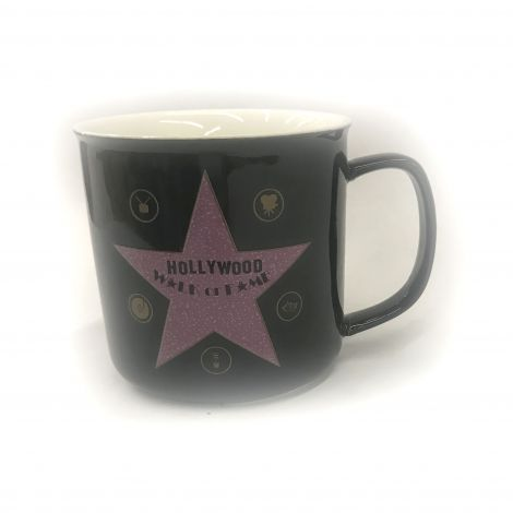 Black Hollywood walk of fame star Coffee mug