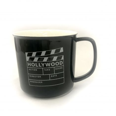 Black Hollywood Clapboard Coffee mug