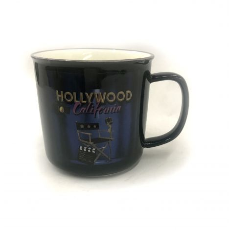 Black Hollywood California director char coffee mug