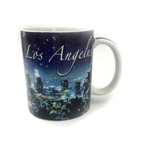 Los Angeles night city scenery Coffee Mug