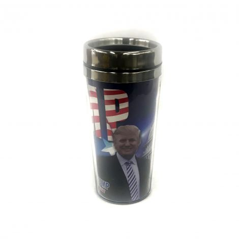 "45th President Donald Trump ""Make America Great Again"" travel mug"