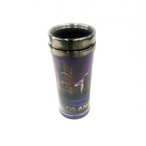 Los Angeles Purple Travel Mug