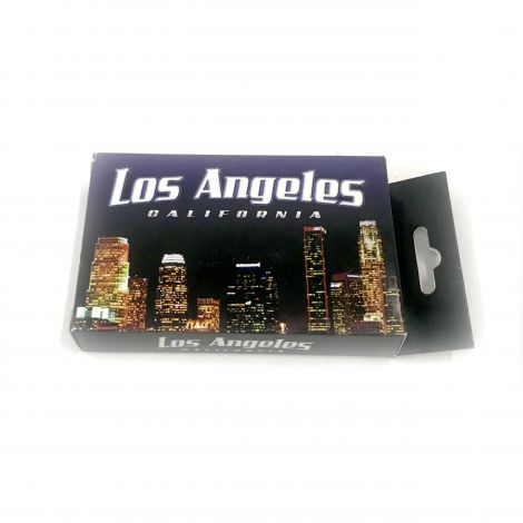 Los Angeles, LA. California, Playing Cards