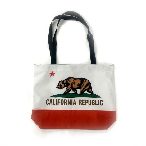 California Republic White Shoulder Bag