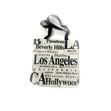 Los Angeles White Shoulder Bag