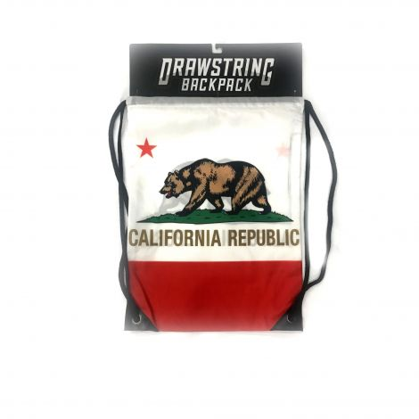 California Republic Drawstring Backpack