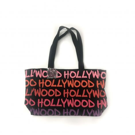 Hollywood colors Pink Orange Red & Purple Writing Tote Bag