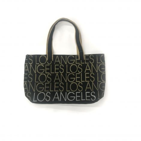 Los Angeles gold and silver Writing Tote Bag