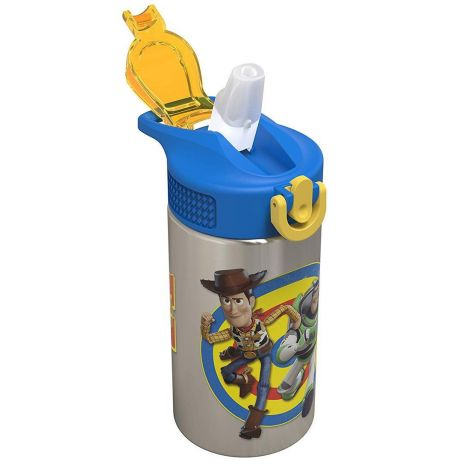 Zak! Designs Toy Story 4 Buzz Woody Water Bottle