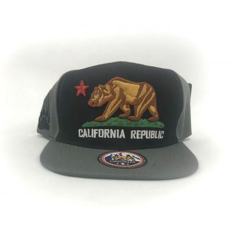 Gray California Republic Cap