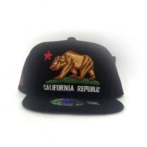 Black California Republic Cap