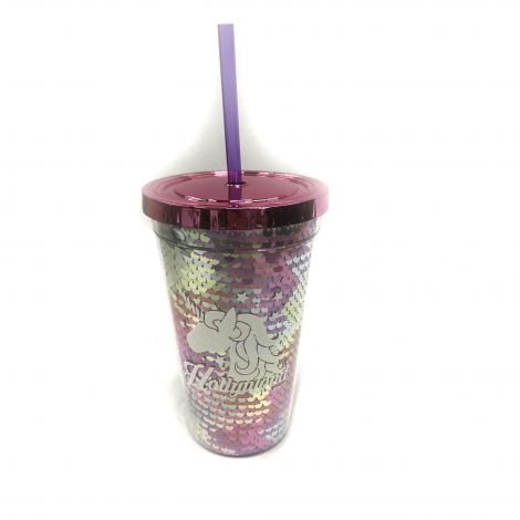 Unicorn Pink, Silver, Purple Hollywood CA Tumblers