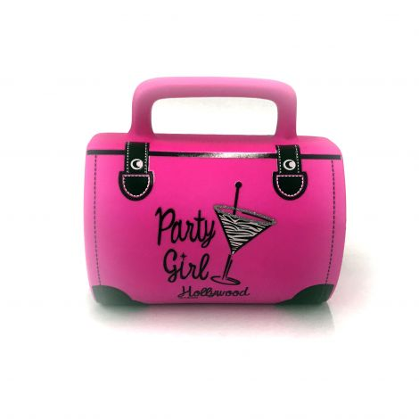 Pink party girl hand bag mug